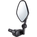 M-Part Internal Bar-end Clamp Commuter Mirror