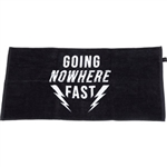 Turbo 'Going Nowhere Fast' Handlebar Towel
