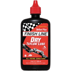 Finishline Teflon Plus Dry Chain Lube 4oz
